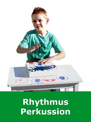 Rhythmus, Perkussion