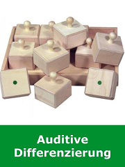 Auditive Differenzierung, Merkfähigkeit, Sequenzierung