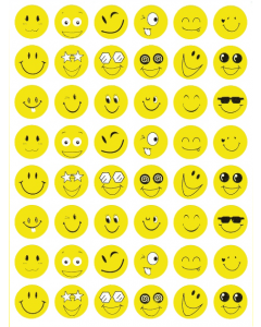 "Belobigungsaufkleber ""Smileys"", 288 Stück"