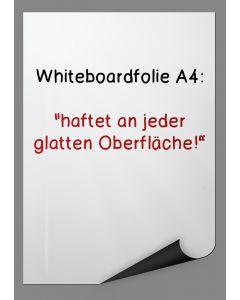 Whiteboard-Folie A4, selbsthaftend, 5 Stück
