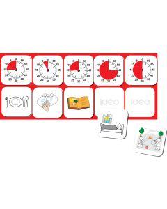TimeTimer® Magnet-Platte für 10 Piktos