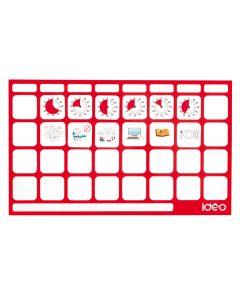 TimeTimer® Magnet-Board für 28 Piktos.