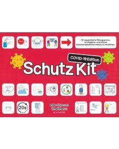 COVID-19 Schutz Kit Piktogramme
