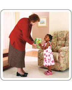 Colorcards Handlungs-Abläufe für Kinder