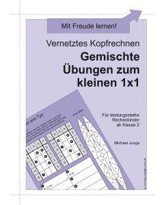 Vernetztes Kopfrechnen Übungen zum 1x1 PDF