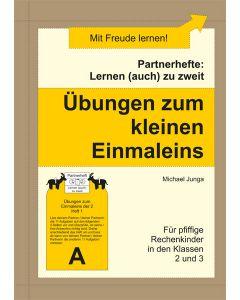 Partnerhefte Übungen zum kleinen Einmaleins PDF