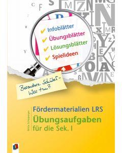 Fördermaterialien LRS für ältere Schüler