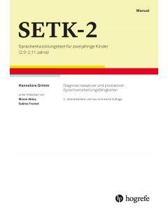 SETK 2 Sprachentwicklung Test Kinder (ab 2 J.)