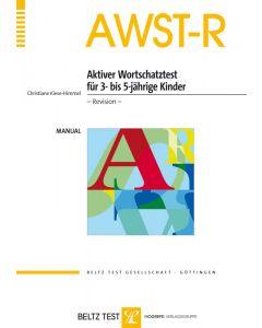 AWST-R Aktiver Wortschatztest 3 5 J.