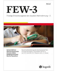 FEW-3 25 Protokollbogen