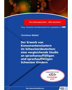 Konsonantencluster im Schweizerdeutschen eBook