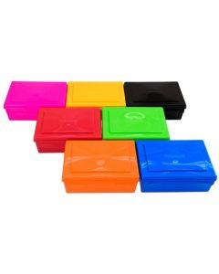 Farbige Aufbewahrungsboxen