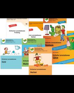 Einfache Lernstationen Deutsch PDF