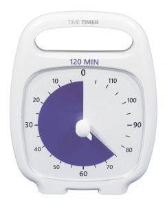 TimeTimer® PLUS weiss 120 Minuten