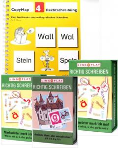Rechtschreibung - Spiele Kopiervorlagen Lingoplay