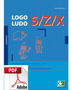 Logo Ludo Übungsmappe zu den Lauten S/Z/X PDF