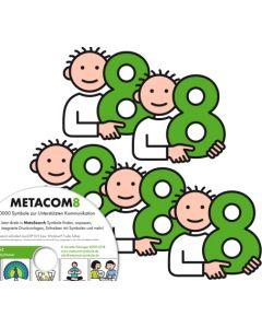 METACOM 8 Symbole - Mehrfachlizenzen, DVD