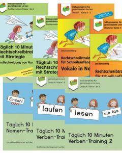 Rechtschreibtraining PDF-Pakete Übersicht