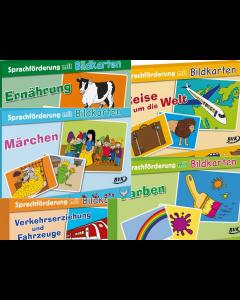 Sprachförderung mit Bildkarten BVK