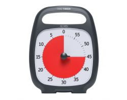 TimeTimer® PLUS schwarz 14 x 18 cm