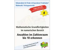 Math. Grundfertigkeiten: Anzahlen bis 10 PDF