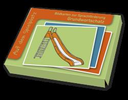 Wortschatzbilder Auf dem Spielplatz